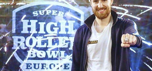 Виктор Малиновский, победитель ME SHR Bowl